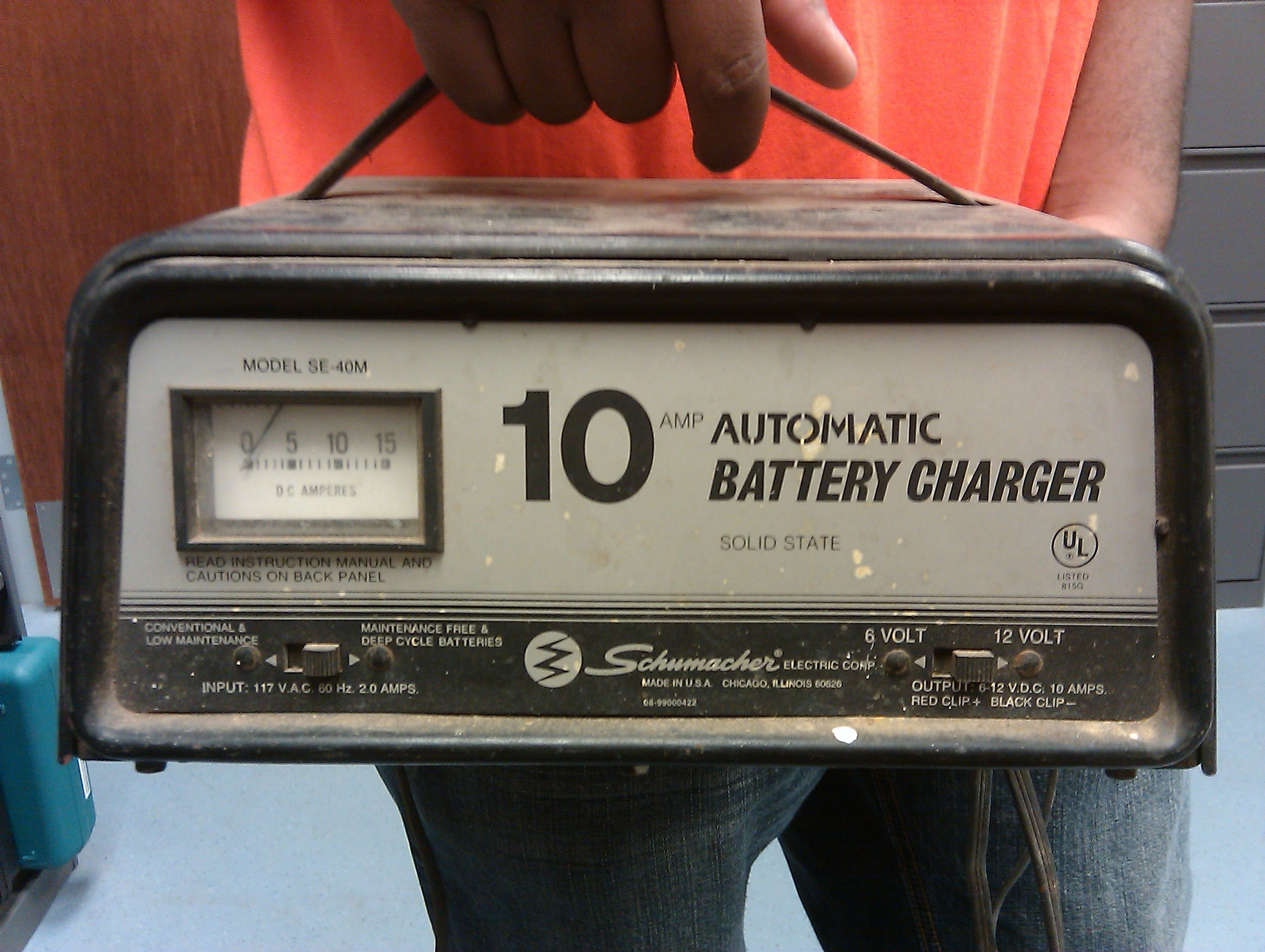 Battery Charger Qualitymade In The Usa